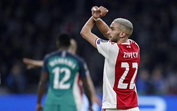 Tân binh Hakim Ziyech sẽ mặc áo đấu số mấy tại Chelsea?