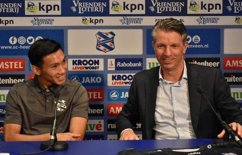 Khi nào Đoàn Văn Hậu kết thúc hợp đồng cho mượn với Heerenveen?