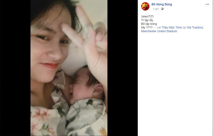 Ngày Valentine của các cầu thủ Việt: Quang Hải cô đơn phòng gym, Đình Trọng, Văn Đức rạng rỡ