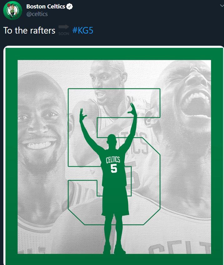 Huyền thoại một thời tại Boston Celtics cuối cùng đã được đội bóng tri ân