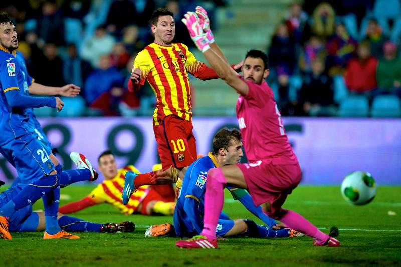 Messi với hiệu suất ghi bàn ấn tượng khi Barca gặp Getafe