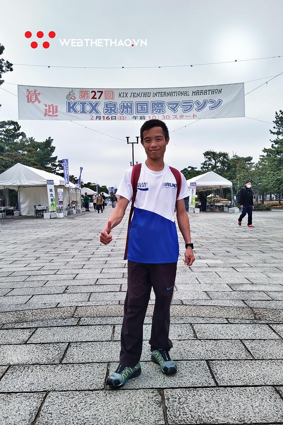 """""""Nhà vô địch giày thủng"""" mang không khí Đà Nẵng International Marathon sang Nhật du đấu"""