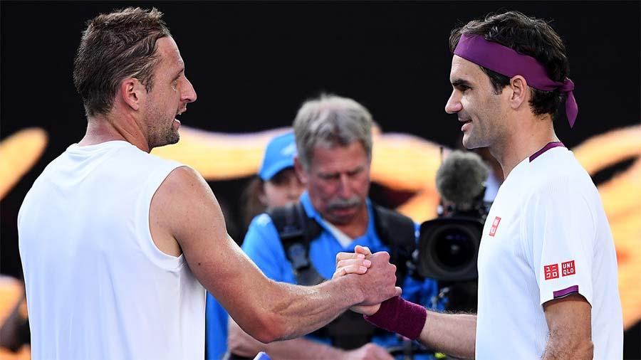 Sau chiến thắng tại Úc Mở rộng 2020, Federer bị đối thủ ghi hận