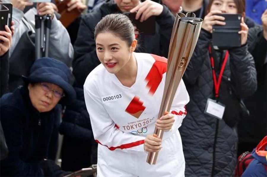 Nhật diễn tập lễ rước đuốc Olympic của Tokyo 2020