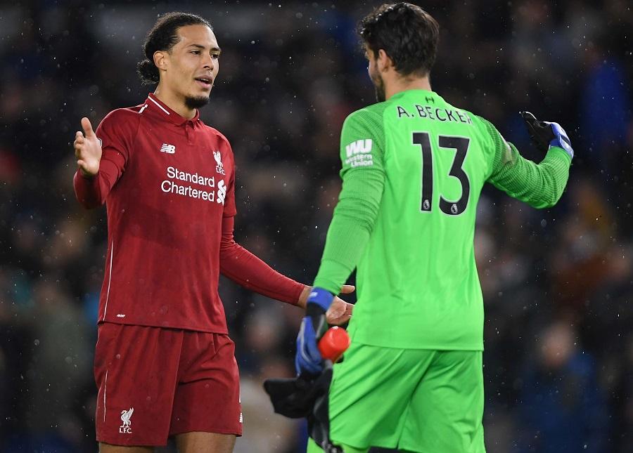 Alisson tạo thành tích phi thường với Liverpool ở Ngoại hạng Anh