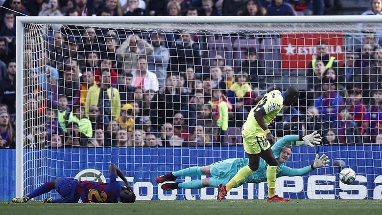 Messi bị Getafe ngăn chặn với số lần phạm lỗi kỷ lục ở châu Âu