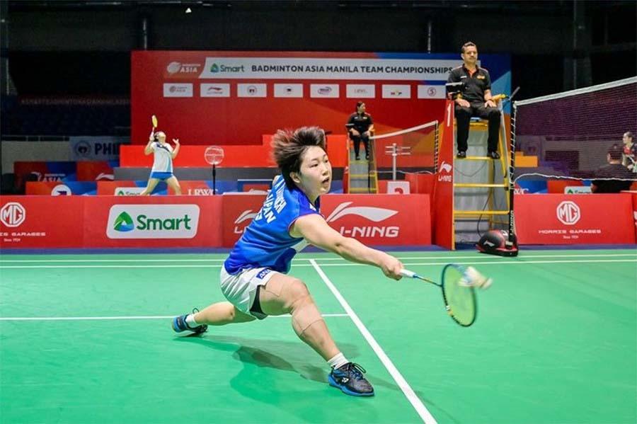 Giải cầu lông VĐ đồng đội châu Á 2020: Nữ Nhật, nam Indonesia lên ngôi