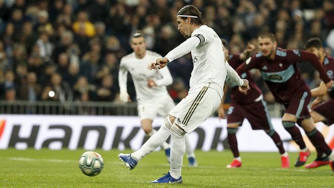 """Ramos sút phạt đền """"bách phát bách trúng"""" cho Real Madrid thời hậu Ronaldo"""