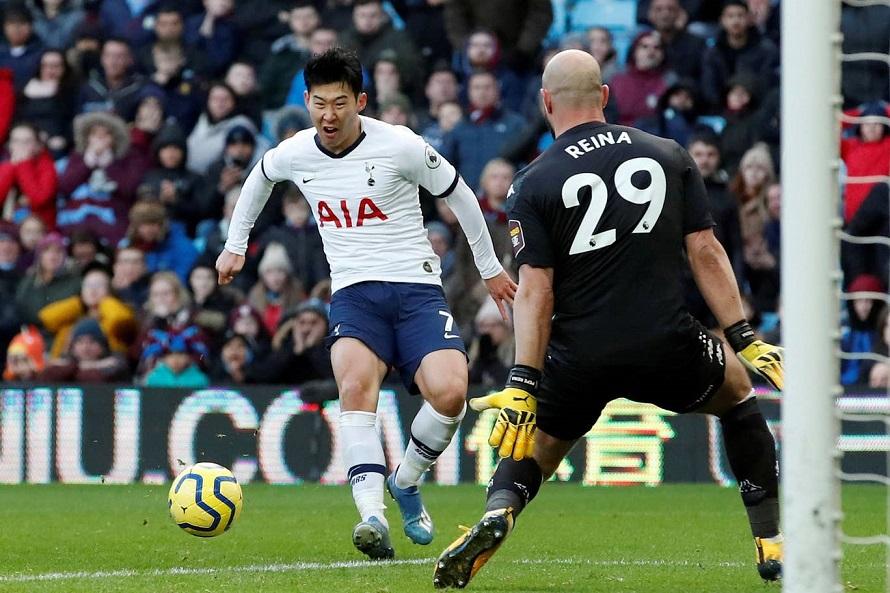 Son Heung-min đi vào lịch sử Ngoại hạng Anh sau cú đúp cho Tottenham