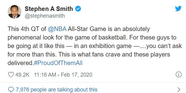 Loạt sao NBA hôm qua phẫn nộ, hôm nay bất ngờ vì độ máu tại All-Stars