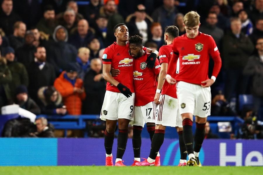 MU tăng cơ hội vào top 4 Ngoại hạng Anh sau khi thắng Chelsea
