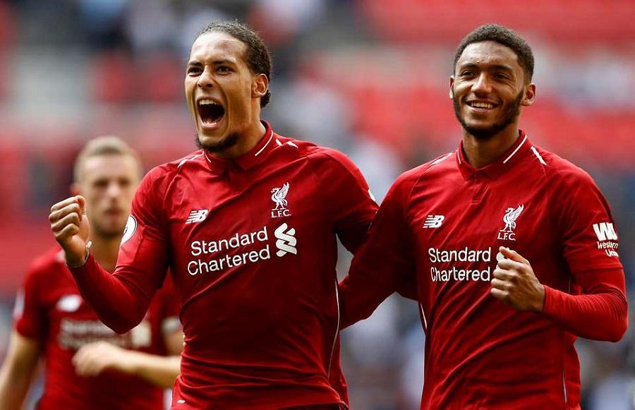 Cặp trung vệ của Liverpool gây kinh ngạc với 1 bàn thua trong hơn 1200 phút