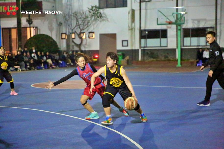 Thắng Fudo nghẹt thở, CDunk có cơ hội Vô địch sớm Hanoi Sisters Cup