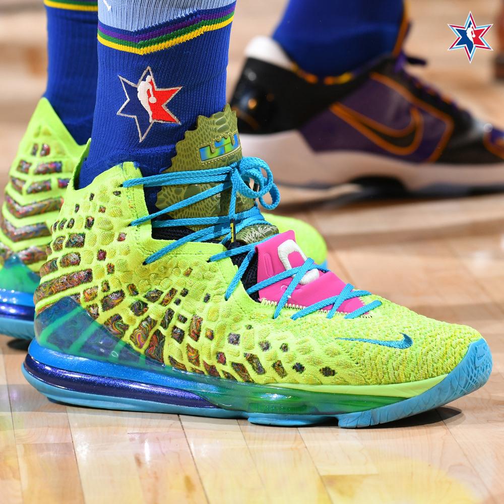 Chiêm ngưỡng 10 đôi giày độc nhất tại NBA All-Star Game 2020