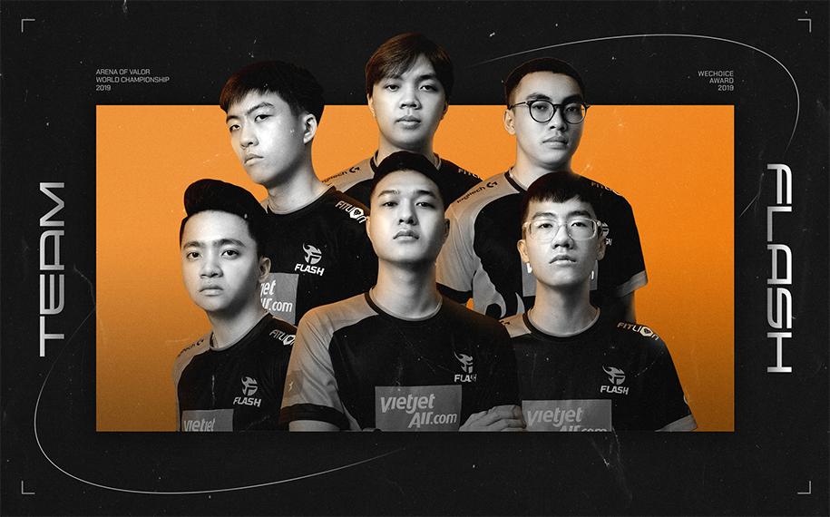 Team Flash Liên Quân Mobile được Forbes Việt Nam vinh danh