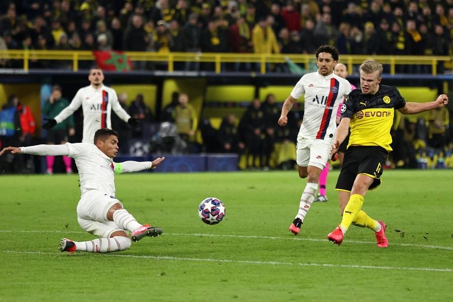 Haaland gây kinh ngạc bằng tốc độ khủng khiếp khi ghi bàn cho Dortmund
