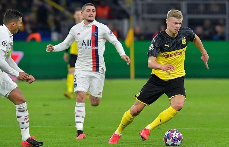 Haaland phá một loạt kỷ lục ngoạn mục ở Cúp C1 cùng Dortmund
