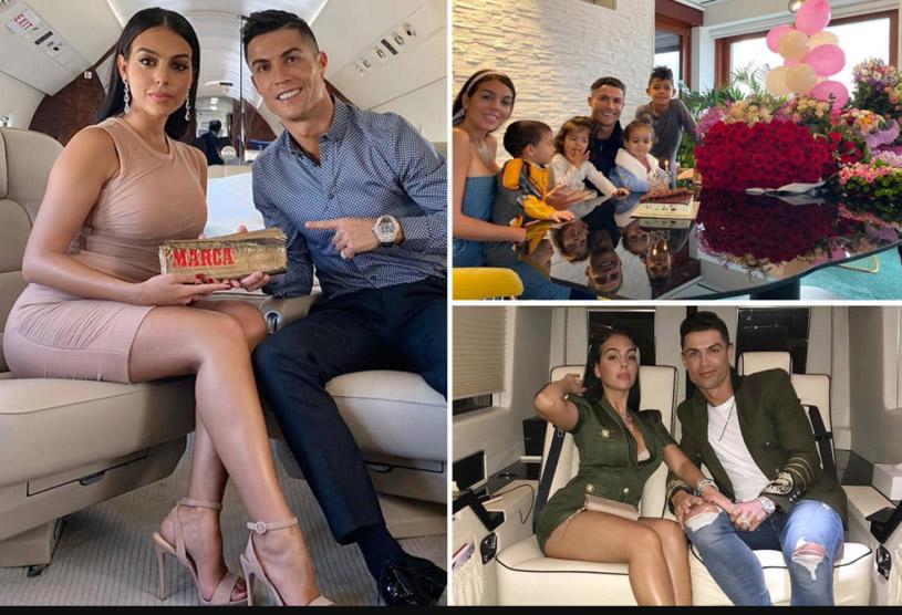 Ronaldo và bạn gái sắm đồ trang sức xa hoa trị giá bạc tỷ