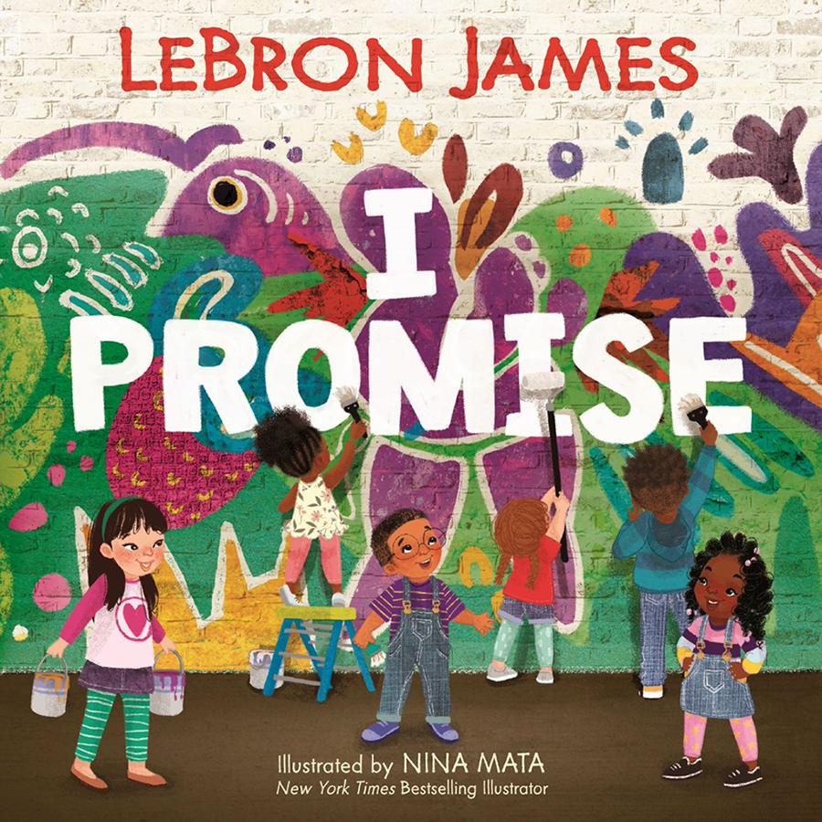Đi theo con đường của Kobe, LeBron James sẽ ra sách dành riêng cho trẻ em