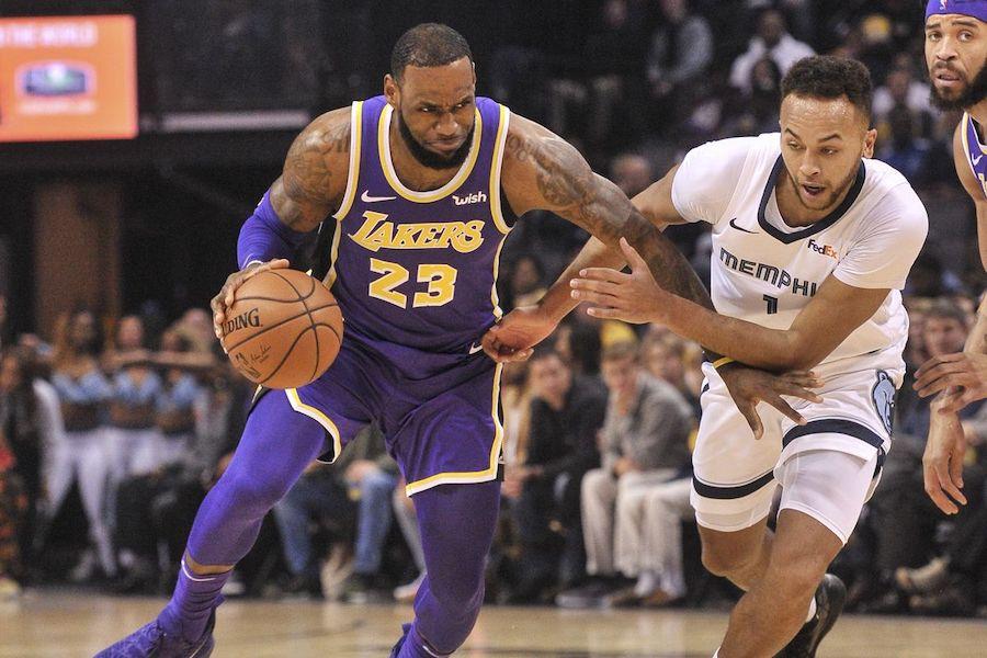 Nhận định NBA: Los Angeles Lakers vs Memphis Grizzlies (ngày 22/2, 10h30)