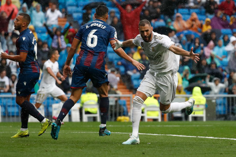 Xem trực tiếp Levante vs Real Madrid trên kênh nào?