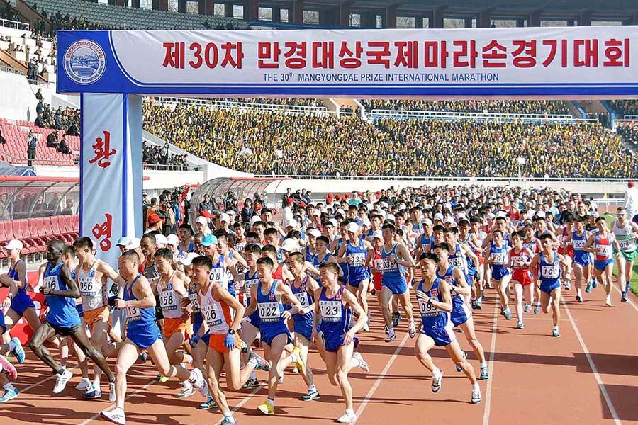 """Giải chạy """"khó tham dự nhất thế giới"""" tại Triều Tiên bị hoãn vì virus corona"""