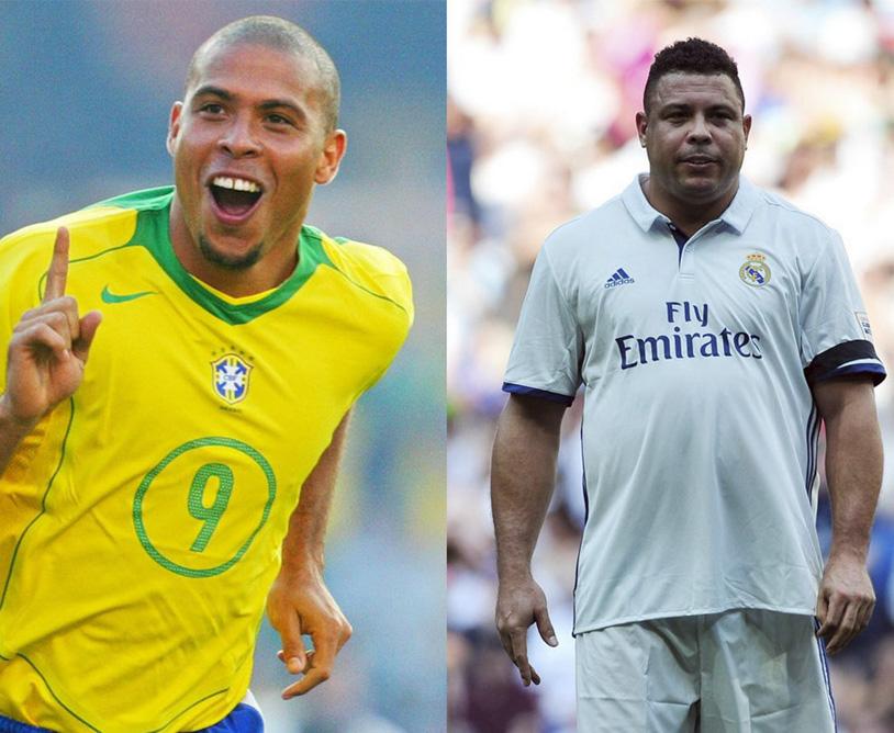 """Ronaldo """"béo"""" giờ ra sao sau khi giải nghệ bóng đá?"""