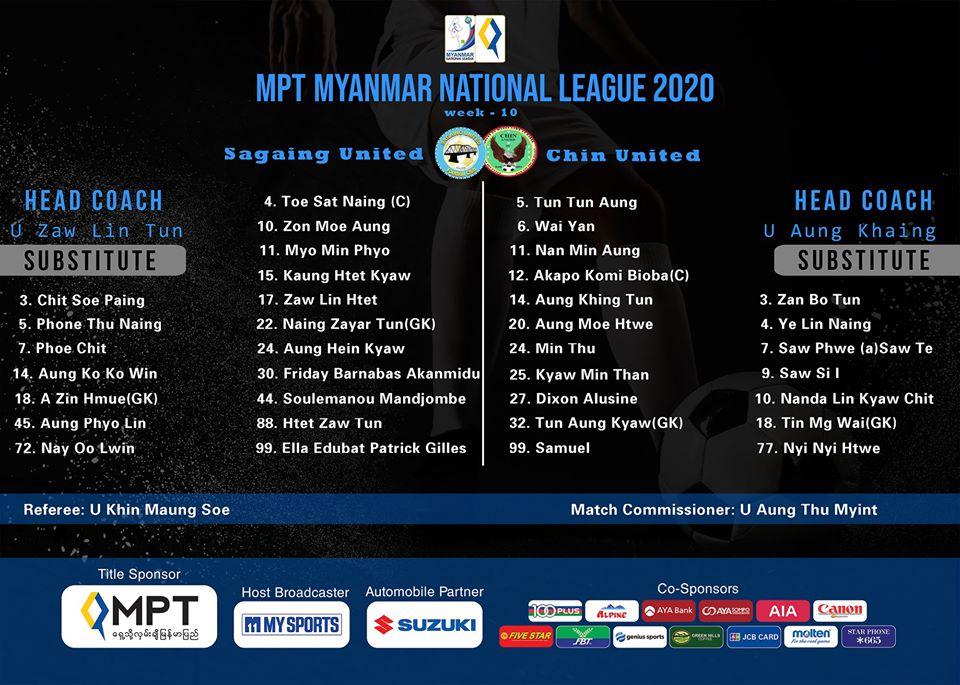 Trực tiếp Sagaing vs Chin United: Thất vọng nối dài