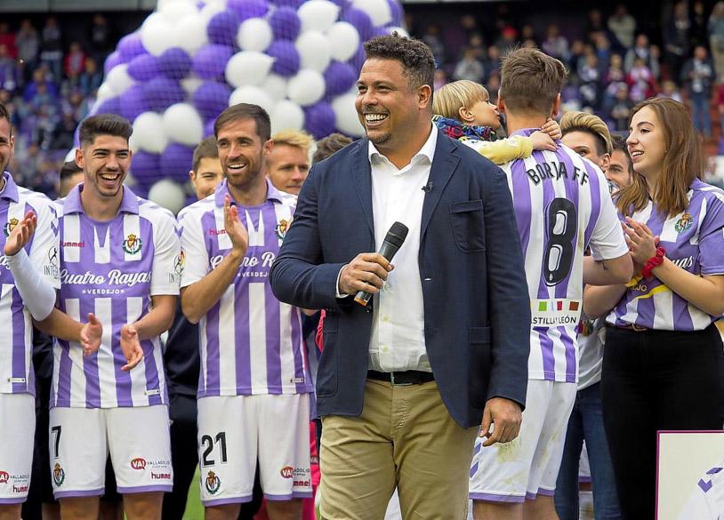 Real Valladolid thi đấu ra sao dưới thời Chủ tịch Ronaldo béo?