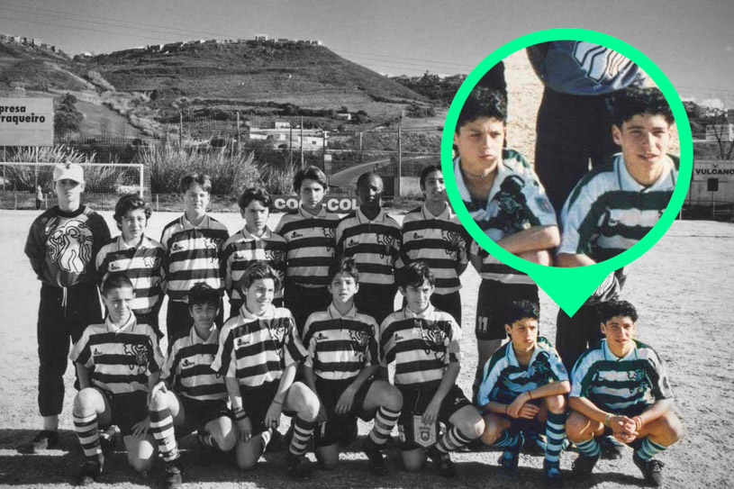 Albert Fantrau và Ronaldo tạo nên tình bạn hiếm có trong bóng đá