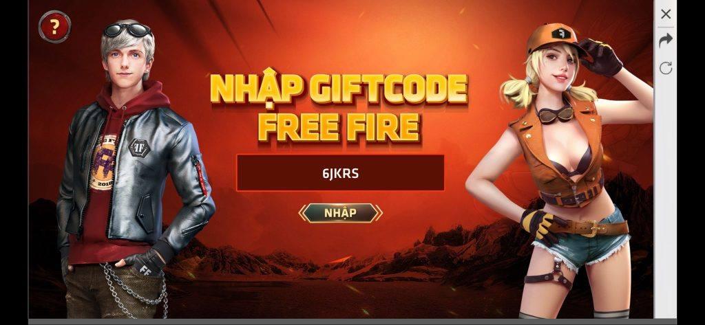 Cách nhập mã code Free Fire 2020 mới nhất