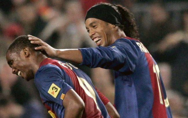 """Barca và MU tạo nên những cặp tiền đạo """"mắn"""" nhất châu Âu mùa 2005/06"""