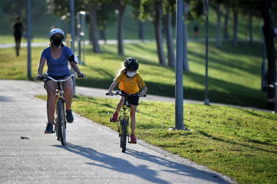 Tập thể thao thời COVID-19: Giữ khoảng cách bao nhiêu là an toàn?