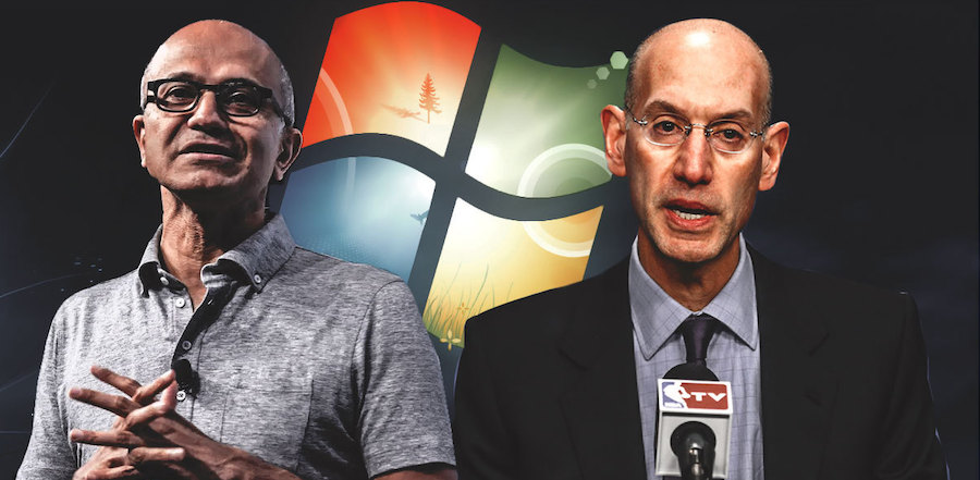 Microsoft chính thức bắt tay NBA với công nghệ mới ấn tượng