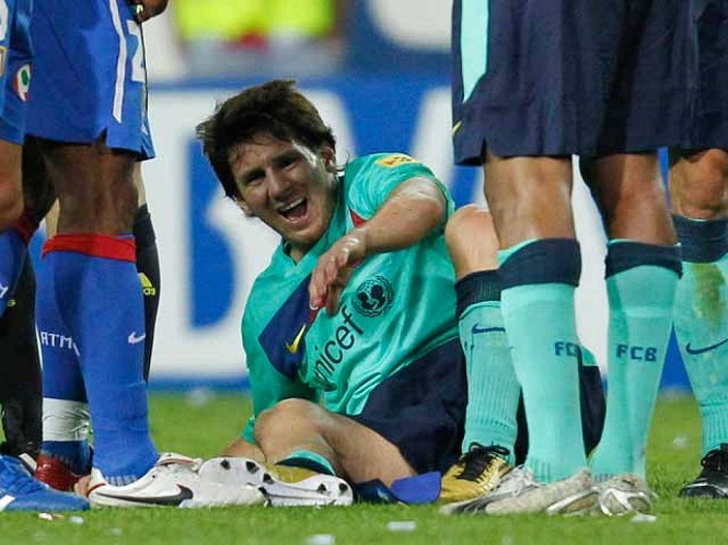 Sự thật cú đá tồi tệ nhất mà Messi chịu đựng trong sự nghiệp