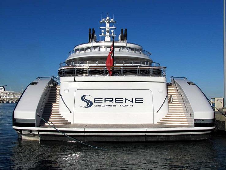 Cận cảnh du thuyền đắt giá hơn CLB Newcastle của thái tử Mohammed bin Salman