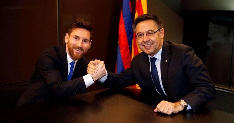 HLV Barca không biết gì về điều khoản đặc biệt trong hợp đồng của Messi