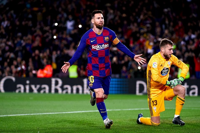 """Messi bị COVID-19 """"đánh cắp"""" bao nhiêu bàn thắng nếu mùa giải phải dừng?"""