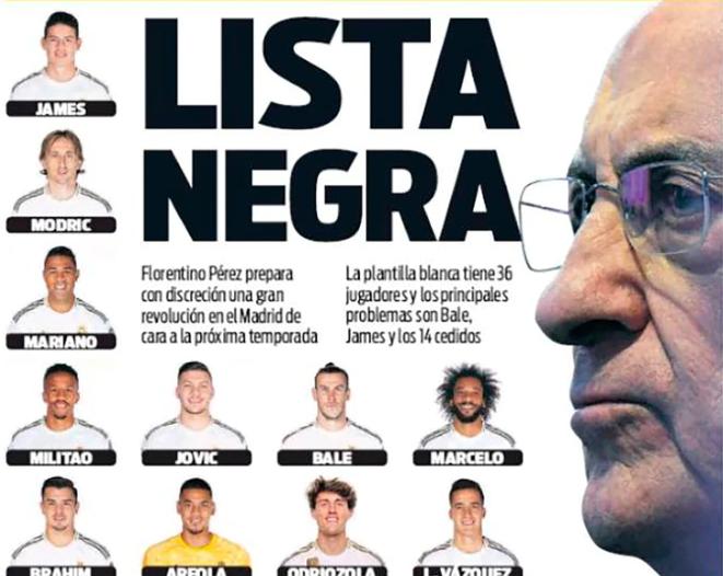 """Real Madrid dọn dẹp phòng thay đồ bằng """"danh sách đen"""" được tiết lộ"""