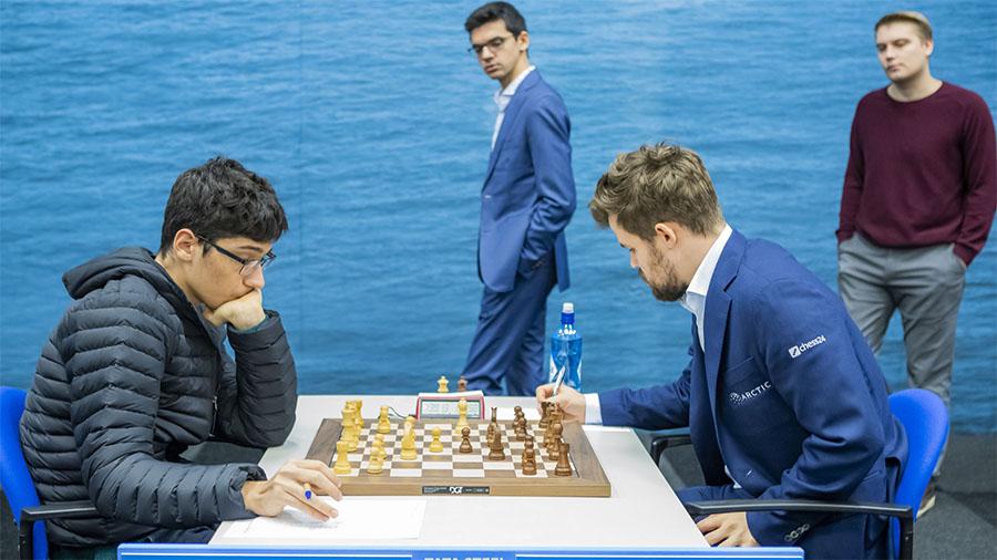 Vua cờ Magnus Carlsen không ưa kỳ thủ 16 tuổi Alireza Firouzja đang sống lưu vong