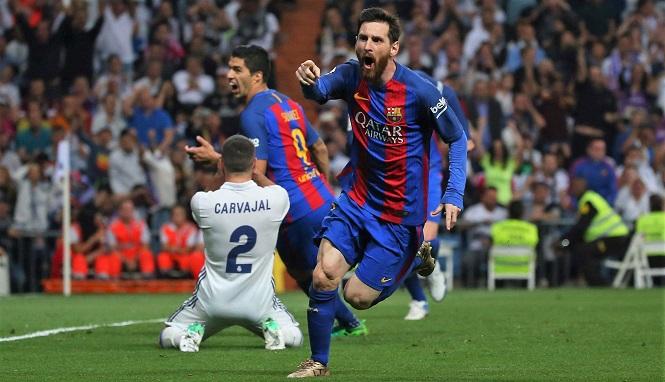 Messi thực hiện màn ăn mừng ấn tượng nhất cách đây tròn 3 năm
