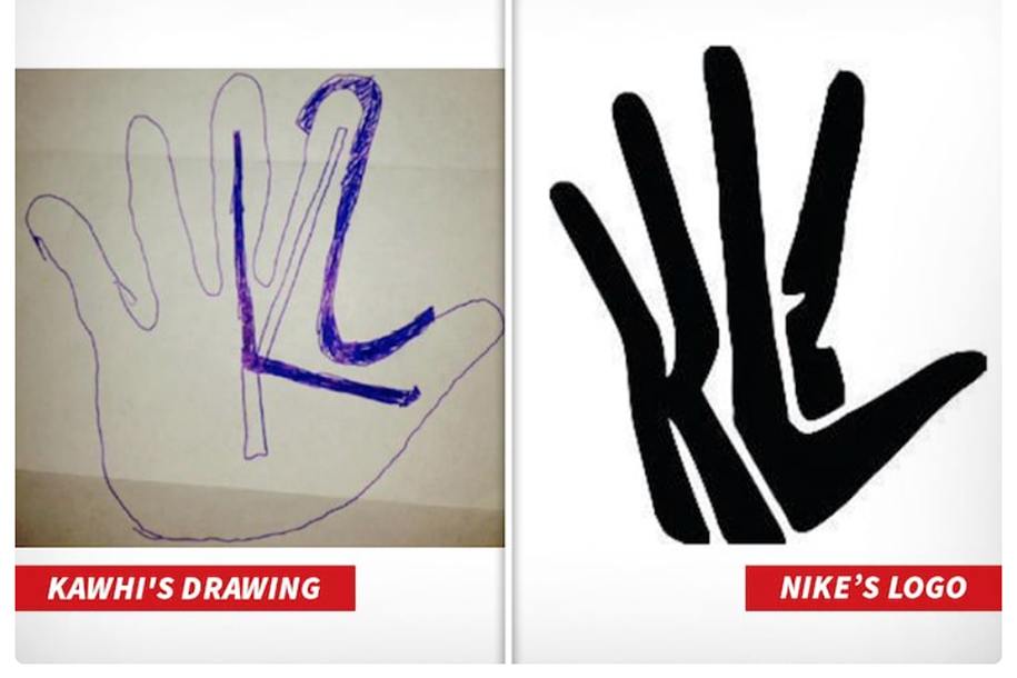 """Kawhi Leonard thất bại trong """"cuộc chiến logo"""" với người khổng lồ Nike"""