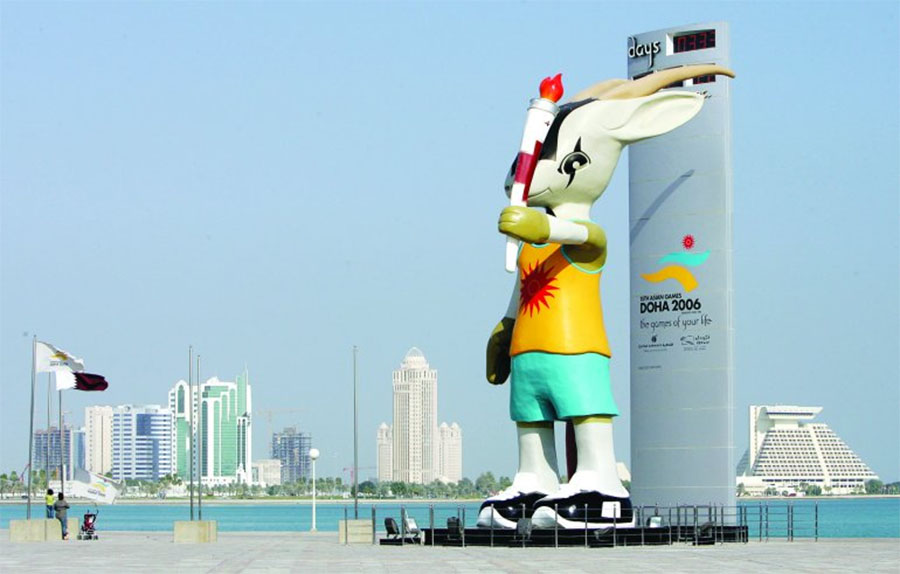 Doha và Riyadh vừa chính thức xin đăng cai Asian Games 2030