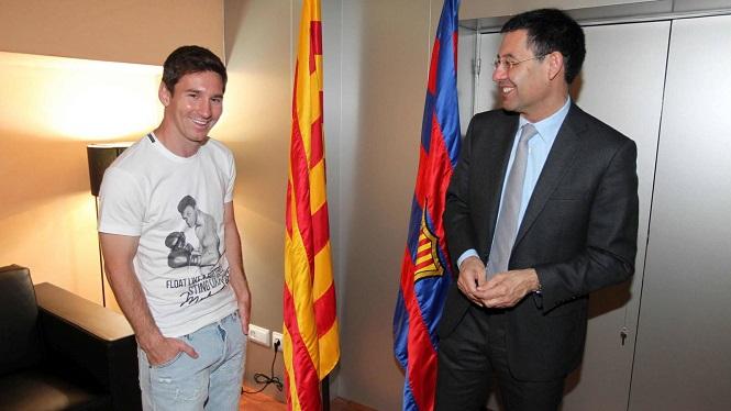 Messi coi VĐV nào là thần tượng của mình trong sự nghiệp?