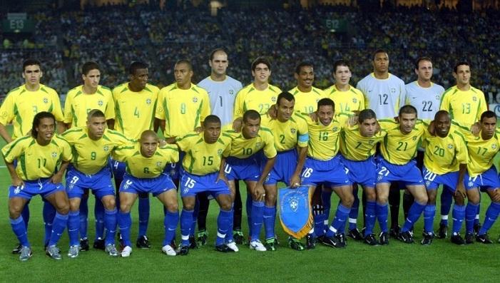 Đội hình Brazil vô địch World Cup 2002 khủng khiếp cỡ nào?