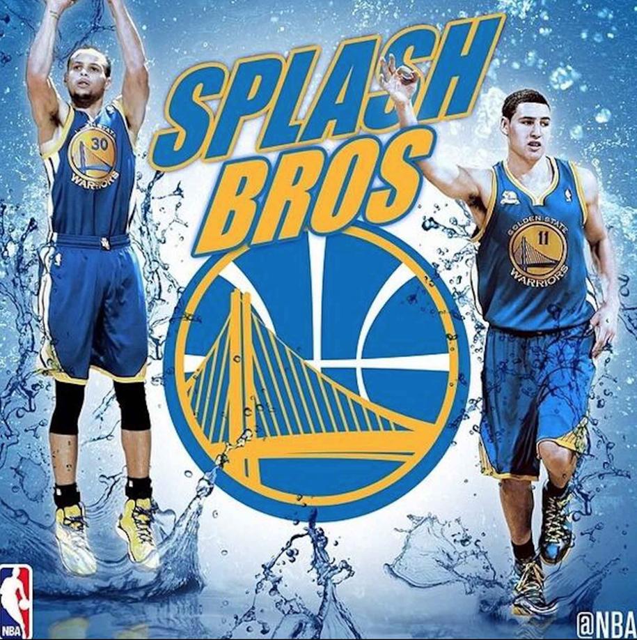 Vì sao Stephen Curry và Klay Thompson được gọi là Splash Brothers?