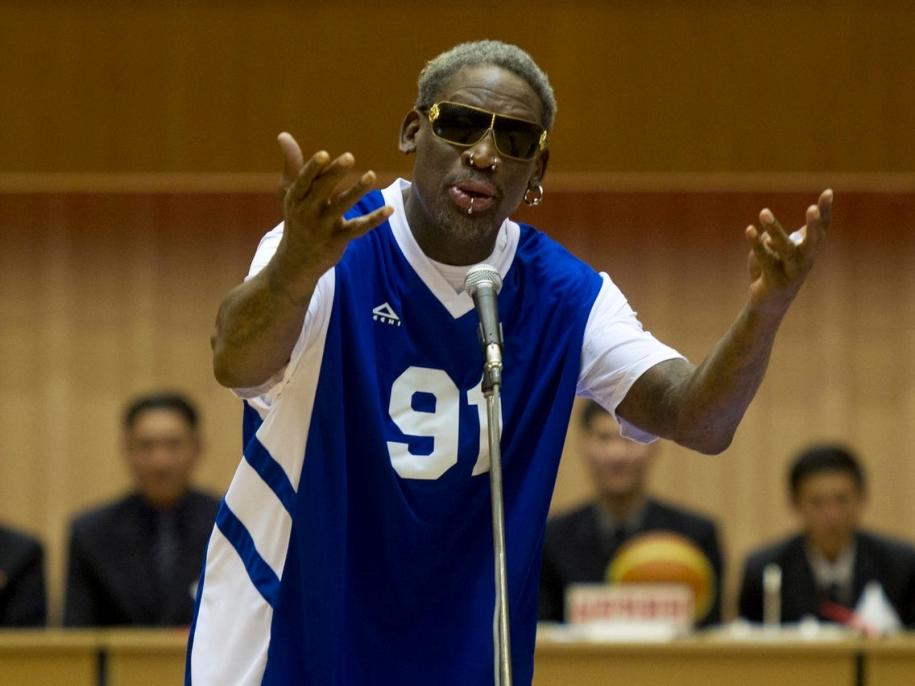 Dennis Rodman trở thành bạn thân của ông Kim Jong Un như thế nào?