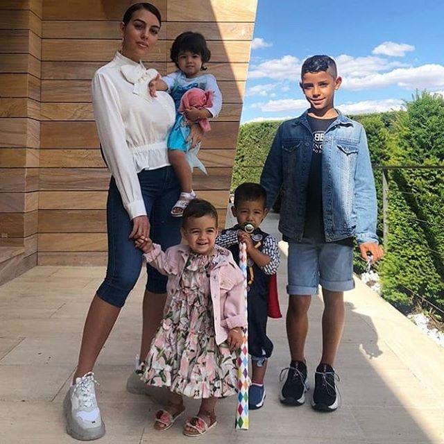 Những hình ảnh đáng yêu cậu con trai Mateo Ronaldo của CR7