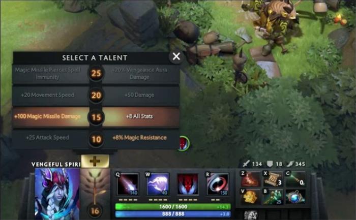 Update Dota 2 7.26b: Giảm sức mạnh của Talents