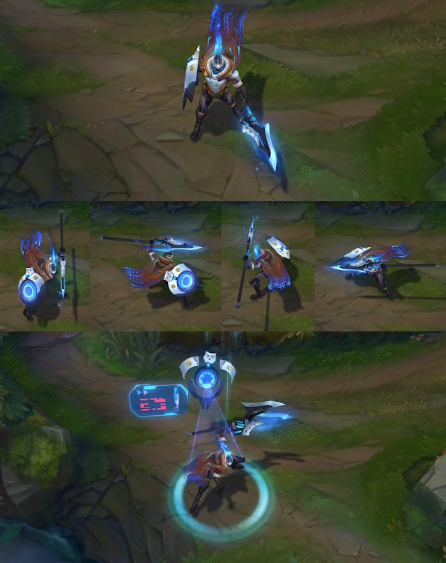 Lucian, Ekko và Pantheon chuẩn bị có trang phục mới: Vũ khí Tối Thượng
